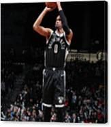 La Clippers V Brooklyn Nets Canvas Print