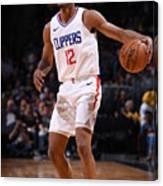 La Clippers V Denver Nuggets Canvas Print