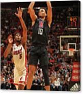 La Clippers V Miami Heat Canvas Print