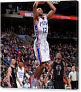 La Clippers V Philadelphia 76ers Canvas Print