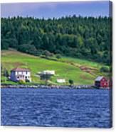 Lahave, Nova Scotia Canvas Print