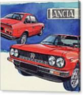 Lancia Beta 1300 Canvas Print
