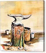Lee's Anvil Canvas Print