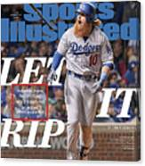 Let It Rip 2017 World Series Preview Issue Sports Illustrated Cover Canvas Print