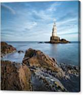 Lighthouse In Ahtopol, Bulgaria Canvas Print