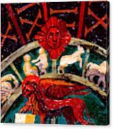 Lion Of St. Mark Canvas Print