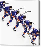 Los Angeles Kings V New York Islanders Canvas Print