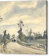 Louveciennes  Route De Saint   Germain  Canvas Print
