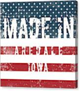 Made In Aredale, Iowa Canvas Print