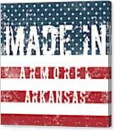Made In Armorel, Arkansas Canvas Print