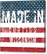 Made In Curtiss, Wisconsin Canvas Print