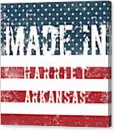 Made In Harriet, Arkansas Canvas Print