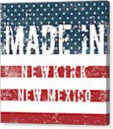 Made In Newkirk, New Mexico Canvas Print