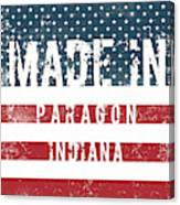 Made In Paragon, Indiana Canvas Print