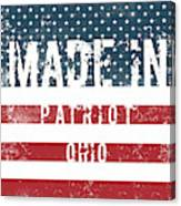 Made In Patriot, Ohio Canvas Print