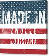 Made In Zwolle, Louisiana Canvas Print