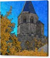 Medieval Bell Tower 6 Canvas Print
