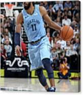 Memphis Grizzlies V Utah Jazz Canvas Print