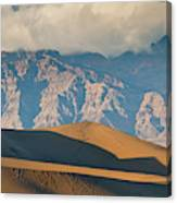 Mesquite Flat Sand Dunes At Sunset Canvas Print