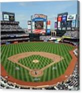 Milwaukee Brewers V New York Mets Canvas Print