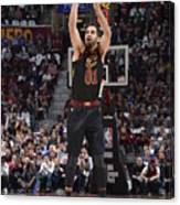 Milwaukee Bucks V Cleveland Cavaliers Canvas Print