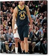 Milwaukee Bucks V Indiana Pacers Canvas Print