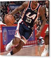 Milwaukee Bucks V La Clippers Canvas Print