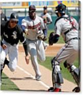 Minnesota Twins V Chicago White Sox Canvas Print