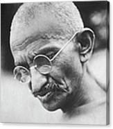 Mohandas K. Gandhi Canvas Print