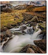 Mountains North Wales Canvas Print