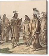 Native Americans Canvas Print
