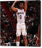 New Orleans Pelicans V Miami Heat Canvas Print