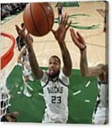 New Orleans Pelicans V Milwaukee Bucks Canvas Print
