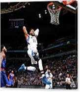 New York Knicks V Minnesota Timberwolves Canvas Print