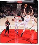 New York Knicks V Portland Trail Blazers Canvas Print