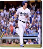 New York Mets V Los Angeles Dodgers 1 Canvas Print