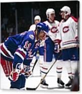New York Rangers V Montreal Canadiens Canvas Print