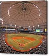 New York Yankees V Tampa Bay Rays Canvas Print