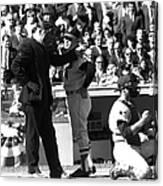 N.y. Mets Vs. Baltimore Orioles. 1969 Canvas Print