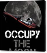 Occupy The Moon Canvas Print