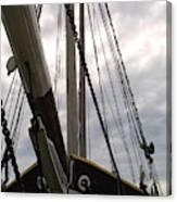 Old Viking Vessel Canvas Print