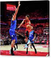 Orlando Magic V Atlanta Hawks Canvas Print