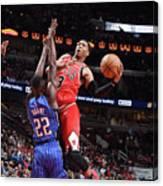 Orlando Magic V Chicago Bulls Canvas Print