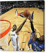 Orlando Magic V New Orleans Pelicans Canvas Print