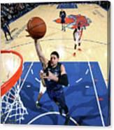Orlando Magic V New York Knicks Canvas Print