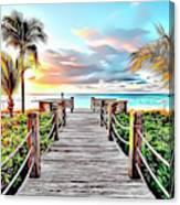 1 Paradise Pier Canvas Print