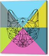 Party Cat Canvas Print