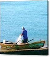 Pescador Canvas Print