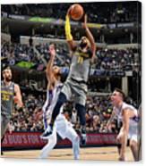 Philadelphia 76ers V Memphis Grizzlies Canvas Print