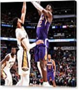 Phoenix Suns V New Orleans Pelicans Canvas Print